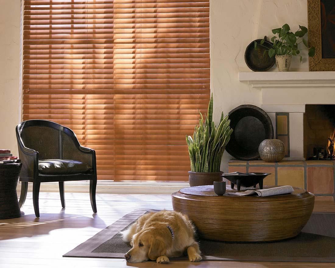 Parkland Reflections Wood Blinds