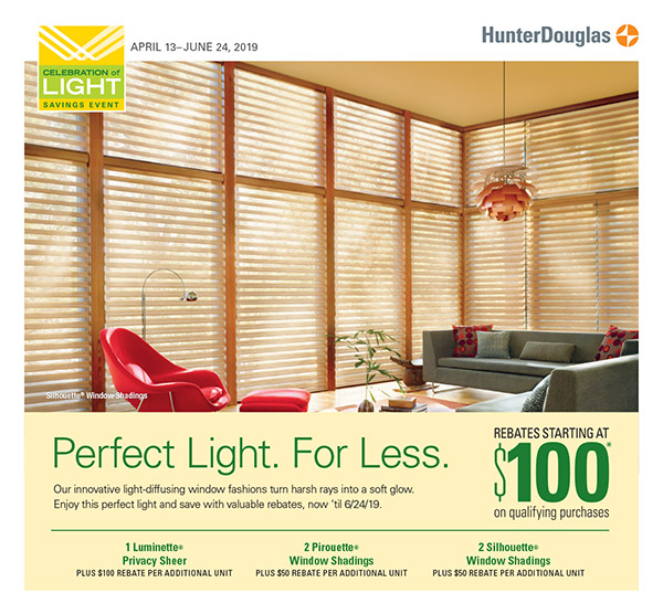 Hunter Douglas Celebration of Light