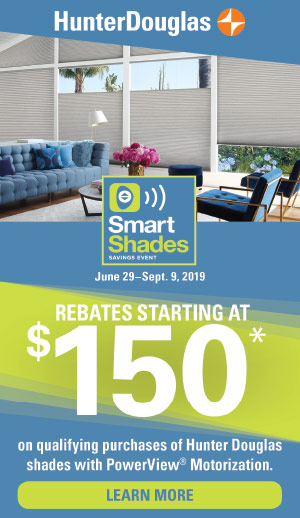 Hunter Douglas Smart Shades Event