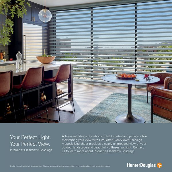 Pirouette® ClearView® Shadings